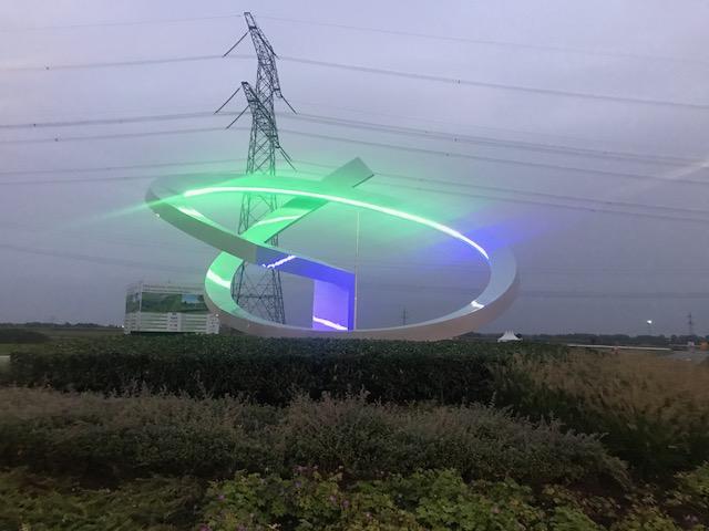 Kunstobject Rotonde Bayer Nunhem